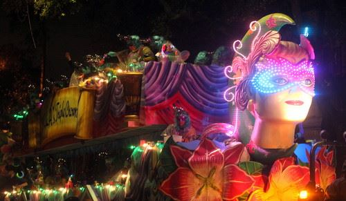 Krewe of Nyx Title Float
