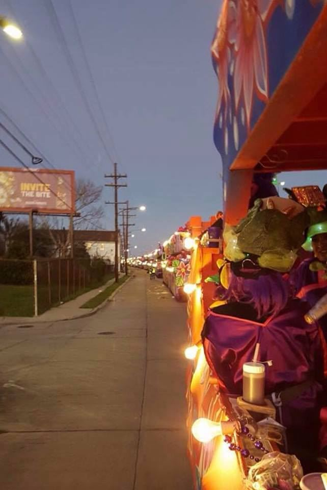 Krewe of Nyx Floats 2017